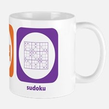 Eat Sleep Sudoku Mug