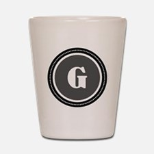 Gray Shot Glass