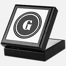 Gray Keepsake Box