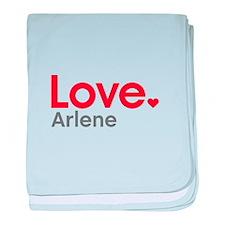 Love Arlene baby blanket