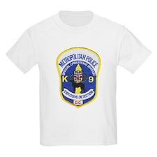 D.C. Police Canine Kids T-Shirt