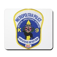 D.C. Police Canine Mousepad