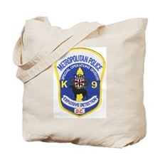 D.C. Police Canine Tote Bag