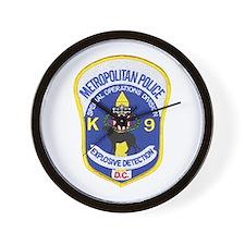D.C. Police Canine Wall Clock