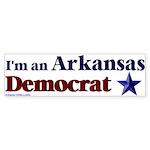 I'm an Arkansas Democrat Bumper Sticker