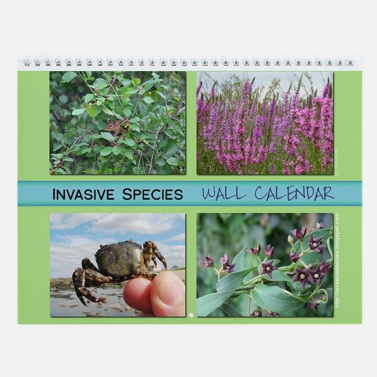 Invasive Species Wall Calendar