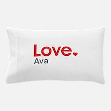 Love Ava Pillow Case
