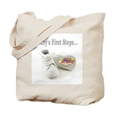 Baby's First Steps Tote Bag
