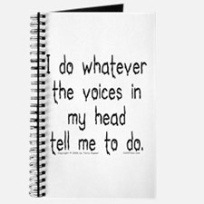 Voices Tell Me... Journal