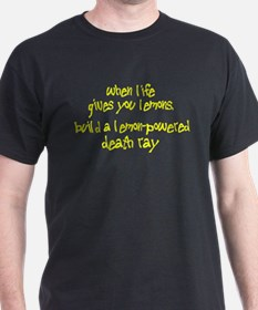 Build A Lemon-Powered Death Ray T-Shirt