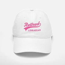 Retired Librarian Gift Baseball Baseball Cap