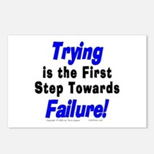 Trying/Failure! Postcards (Package of 8)