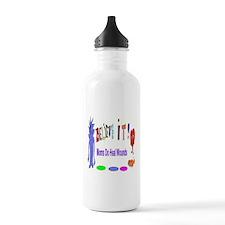 Believe It Moms Heal Wounds Water Bottle