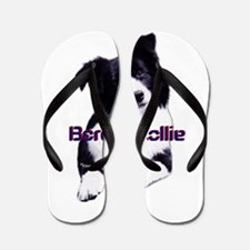 border collie dad Flip Flops