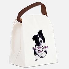 border collie dad Canvas Lunch Bag