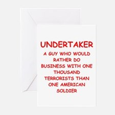 UNDERTAKER Greeting Cards (Pk of 10)