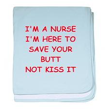 nurse baby blanket