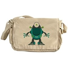 Robo-Droid Messenger Bag