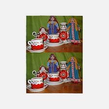 Russian Doll Tea Time 5'x7'Area Rug