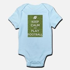 Keep Calm and Play Football Body Suit