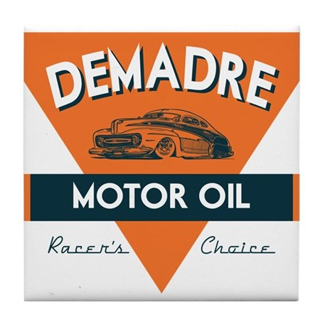 DeMadre Motor Oil Tile Coaster