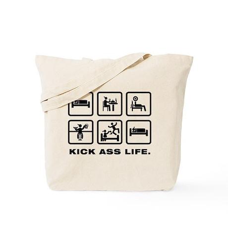 Power Lifting Tote Bag
