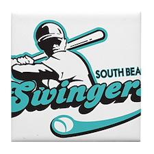 South Beach Swingers Tile Coaster