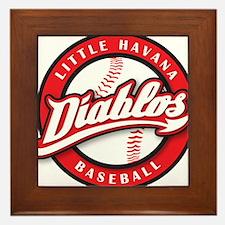 Little Havana Diablos Baseball Framed Tile