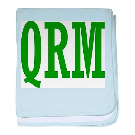 QRM baby blanket