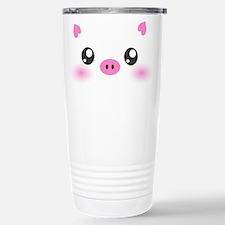Cute Pig Travel Mug