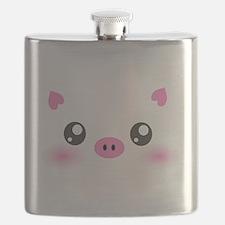 Cute Pig Flask