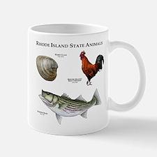 Rhode Island State Animals Mug