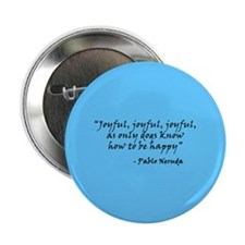 "Joyful! Text 2.25"" Button (100 pack)"