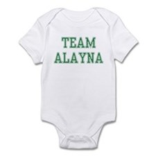 TEAM ALAYNA  Infant Bodysuit