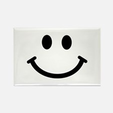 Smiley face Rectangle Magnet (100 pack)