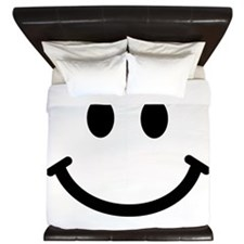 Smiley face King Duvet