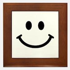Smiley face Framed Tile