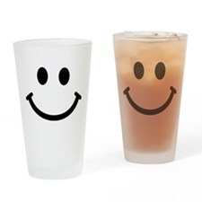 Smiley face Drinking Glass