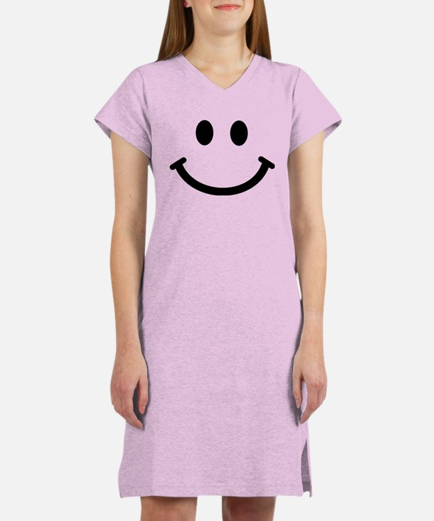 Smiley face Women's Nightshirt