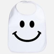 Smiley face Bib