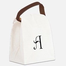 Anglican Monogram A Canvas Lunch Bag