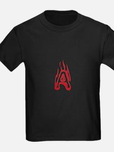 Burning Monogram A T-Shirt