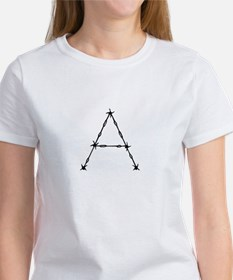 Barbed Wire Monogram A T-Shirt