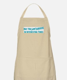 May You Survive BBQ Apron