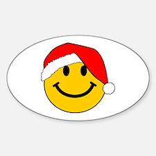 Christmas Santa Smiley Decal