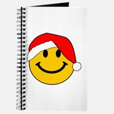Christmas Santa Smiley Journal