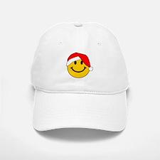 Christmas Santa Smiley Baseball Baseball Baseball Cap