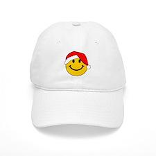 Christmas Santa Smiley Baseball Cap