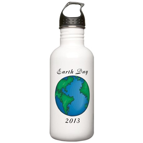 Earth Day 2013 Stainless Water Bottle 1.0L