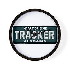 Alabama Tracker Wall Clock